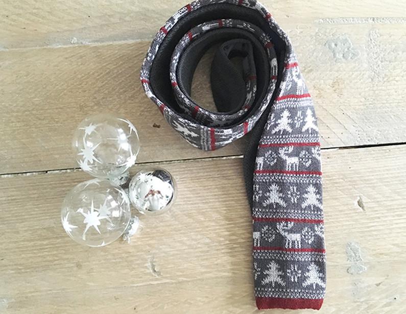 De kerst stropdas
